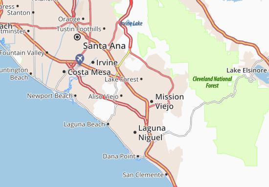 Laguna Hills Map
