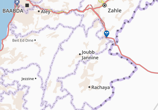 Carte-Plan Joubb Jannine