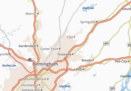 Chalkville Map
