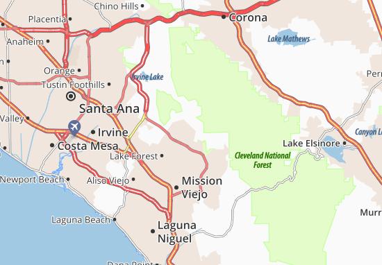 Portola Hills Map