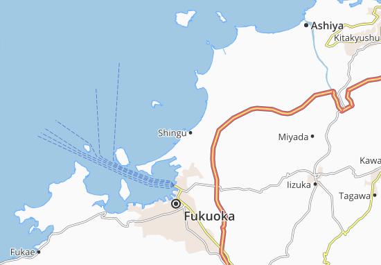 Shingu Map: Detailed maps for the city of Shingu - ViaMichelin