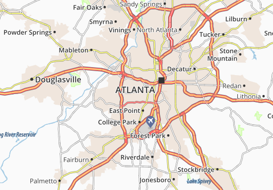 Adams Park Map