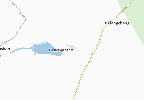 Carte-Plan Pingdingshan