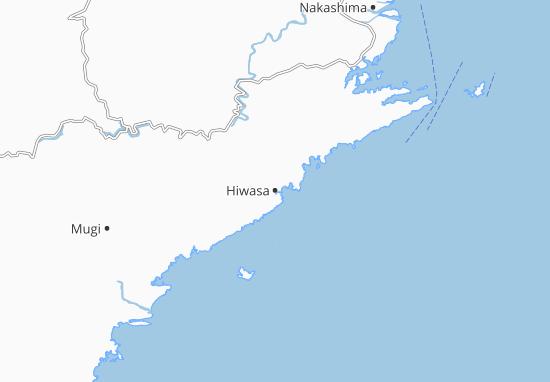 Kaart Plattegrond Hiwasa