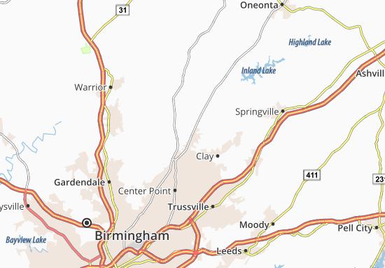 Palmerdale Map