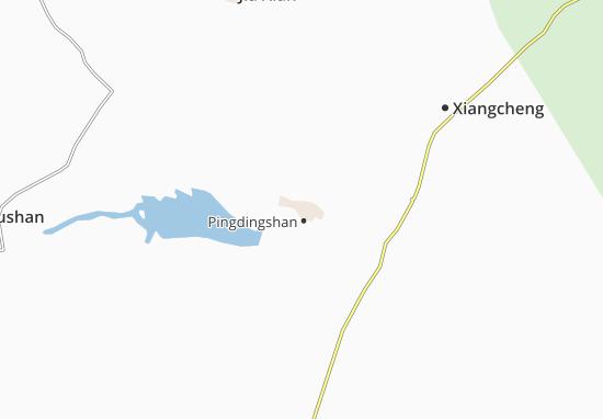 Bingdingshan Map