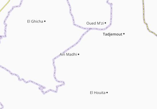 Carte-Plan Ain Madhi