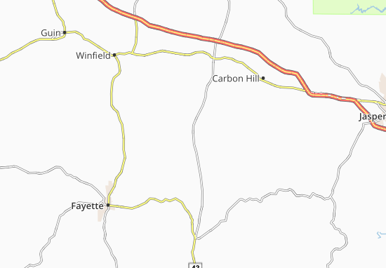 Fowlers Crossroads Map