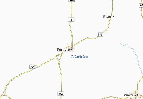 Fordyce Map