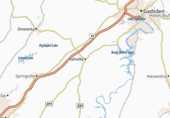 Ashville Map