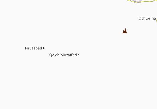Qaleh Mozaffari Map