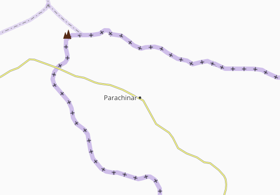 Carte-Plan Parachinar