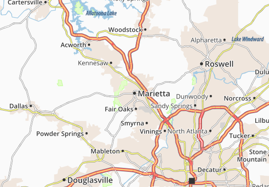 Mappe-Piantine Marietta