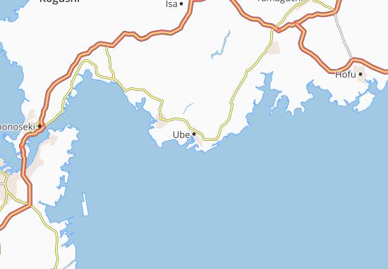 Kaart Plattegrond Ube