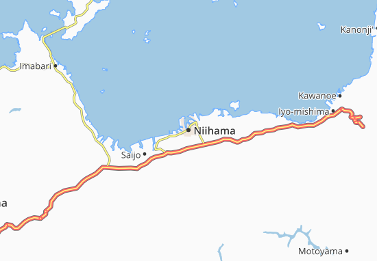 Niihama Map