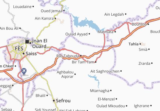 Carte-Plan Ras Tabouda
