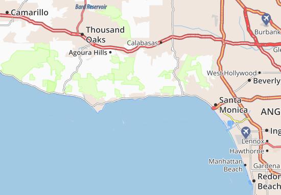 Mapas-Planos Malibu