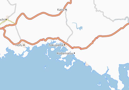 Mappe-Piantine Tokuyama