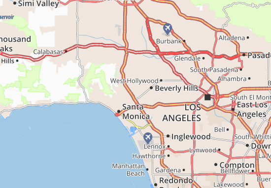Image Result For Image Result For Los Angeles Weather Map