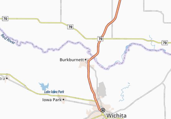 Carte-Plan Burkburnett