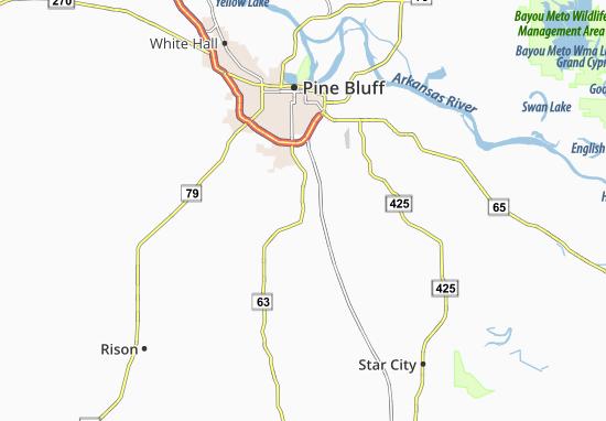 Pinebergen Map