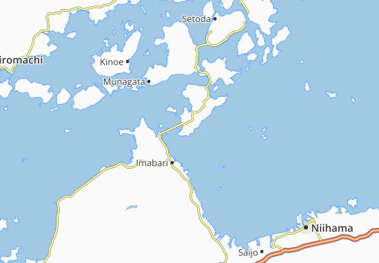 Minamiura Map