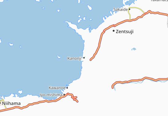 Mapas-Planos Kanonji'