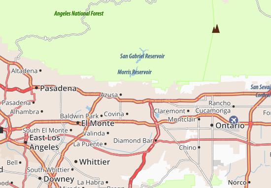 Glendora Map
