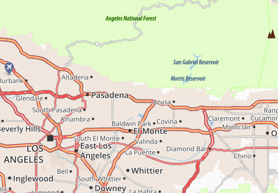 Monrovia Map