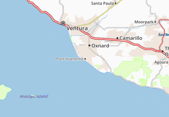 Port Hueneme Map