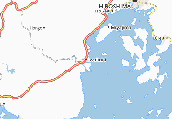 Iwakuni Map