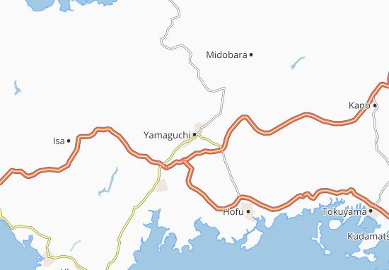 Yamaguchi Map