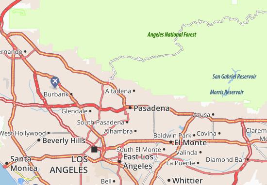 Altadena Map