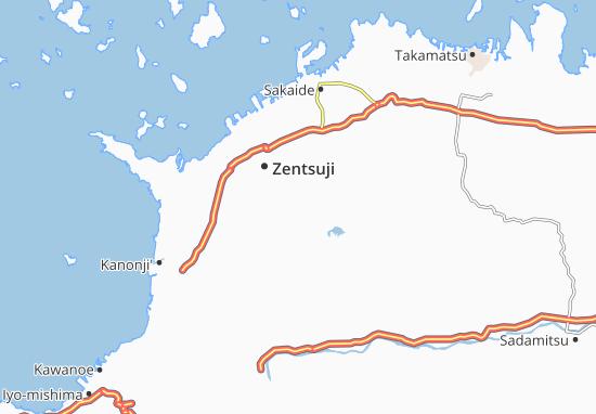 Kotohira Map