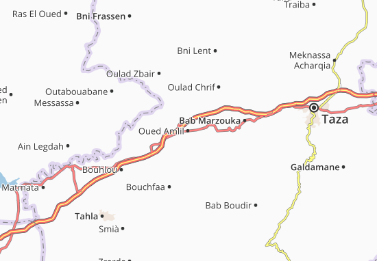 Carte-Plan Oued Amlil
