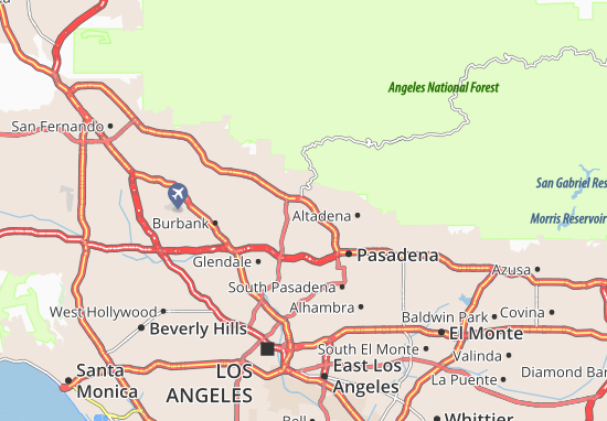 La Canada Flintridge Map