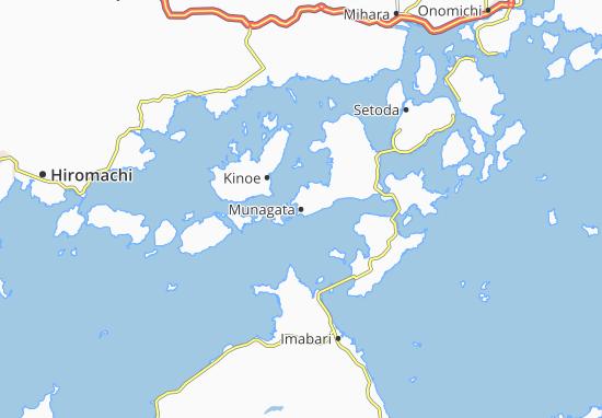 Kaart Plattegrond Munagata
