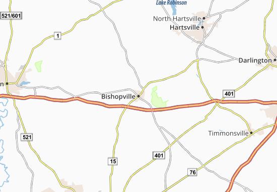 Bishopville Map