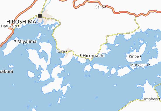 Hiromachi Map