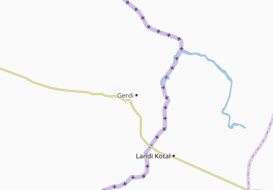 Gerdi Map