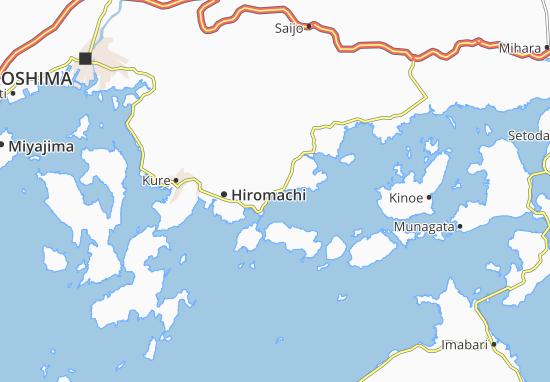 Kaart Plattegrond Osaki-Kami-Jima