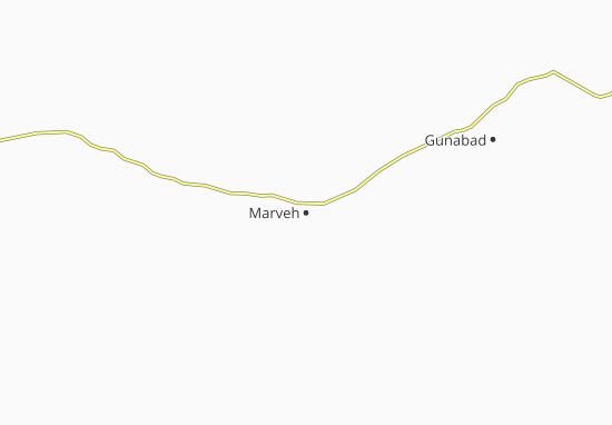 Kaart Plattegrond Marveh