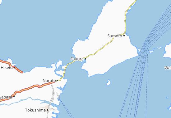 Map of Fukura - Michelin Fukura map - ViaMichelin