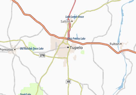 Tupelo Map