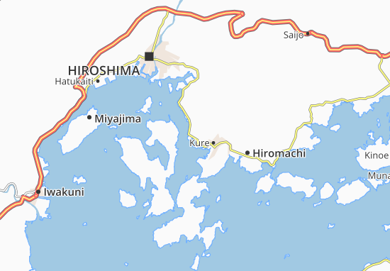 Kaart Plattegrond Yoshiura