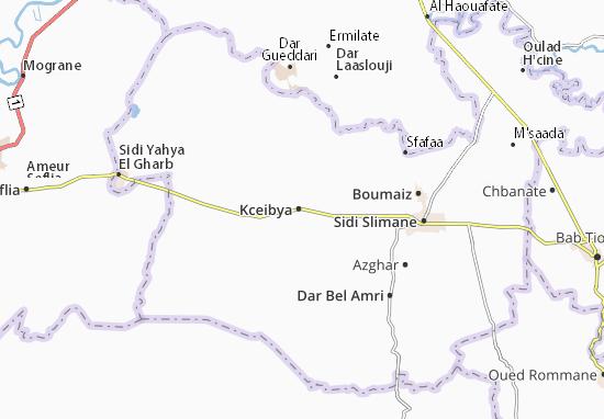 Kceibya Map