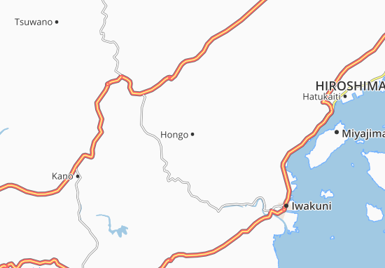 Kaart Plattegrond Hongo