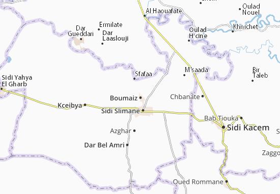 Carte-Plan Boumaiz
