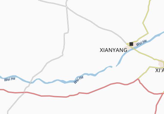 Mapas-Planos Xingping