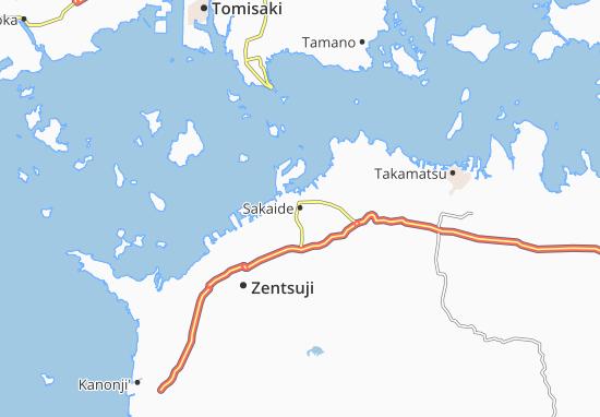 Sakaide Map